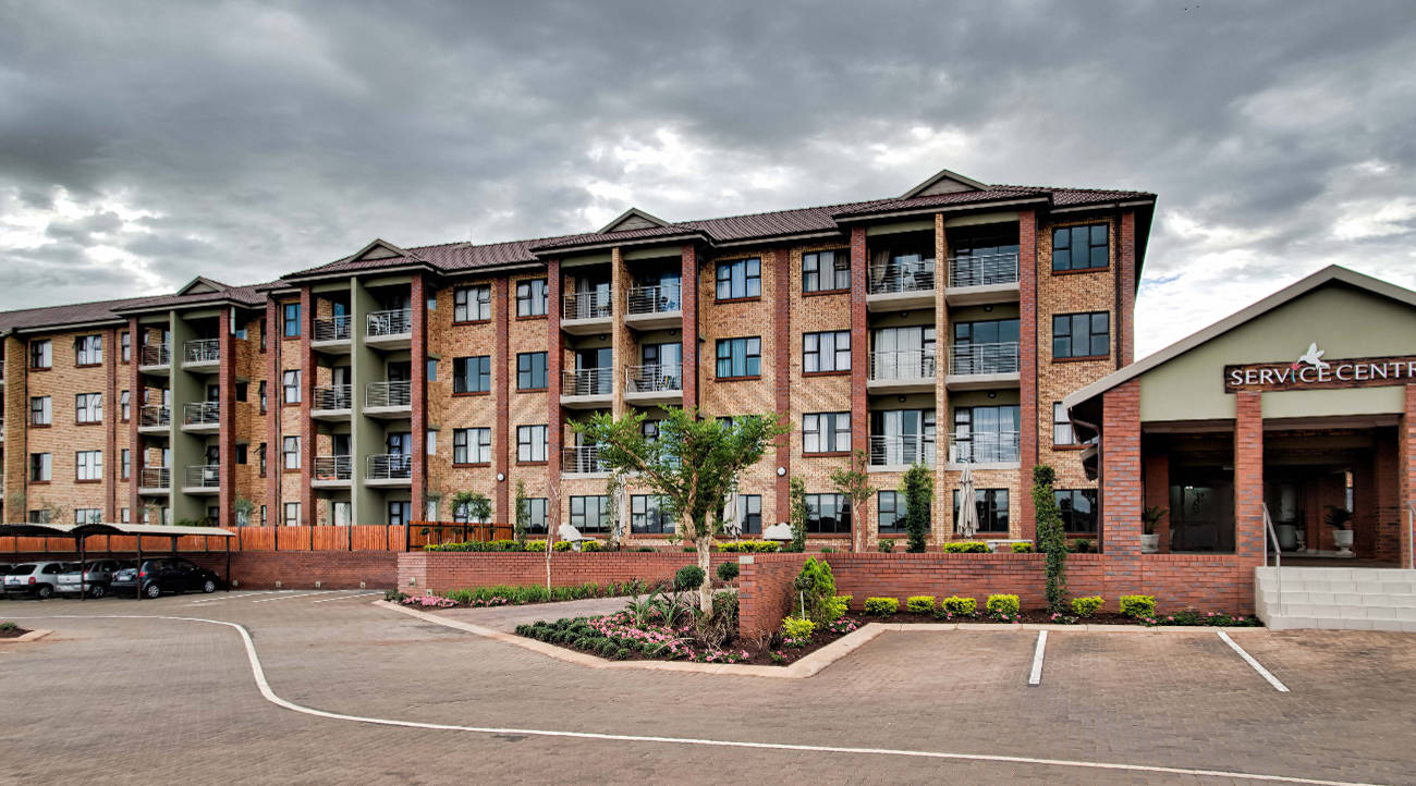 Photo of Corobrik face brick creates homely Centurion retirement village