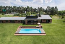 Photo of Face brick helps riverside holiday home blend with the landscape
