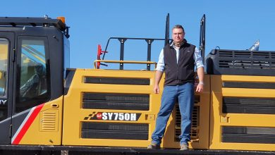 Photo of Goscor Earthmoving Equipment makes inroads into Lephalale with sale of SANY SY750 excavator